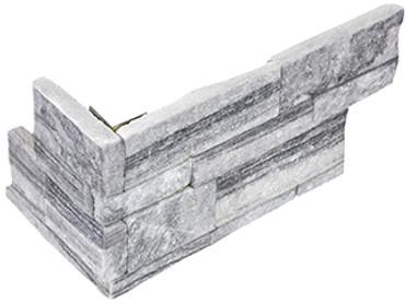 "Ledger Panel Nordic Crystal ""L"" Corner 6x12x6 (76-380)"