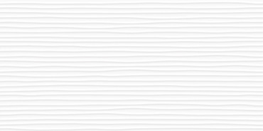 Linea Amplitude 12x24 White Sculpted Glossy Rectified Wall Tile (69-986)