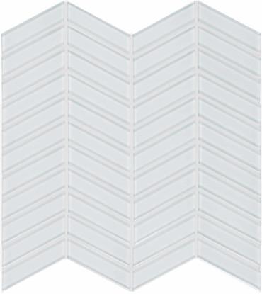 Element Ice Chevron Glass Mosaics (35-122)