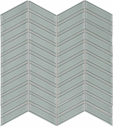 Element Shadow Chevron Glass Mosaics (35-128)