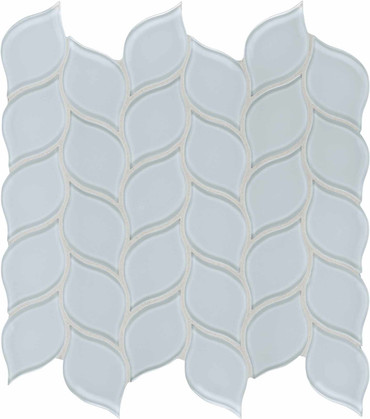 Element Skylight Petal Glass Mosaics (35-137)
