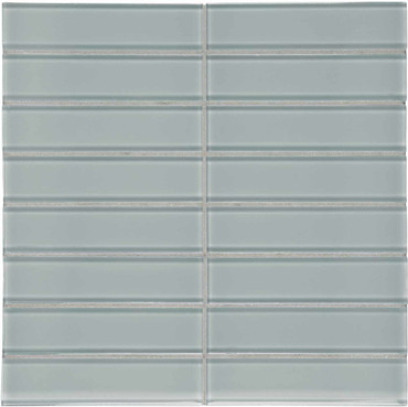 """Element Shadow Stacked Glass Mosaics 1.5"""" x 6"""" (35-120)"""