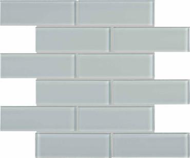 Element Cloud Glass Brick Mosaics 2x6 (35-088)