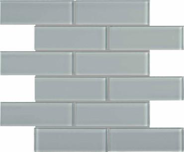 Element Shadow Glass Brick Mosaics 2x6 (35-089)