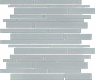 Element Cloud Random Strip Glass Mosaics (35-092)