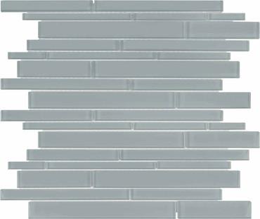 Element Shadow Random Strip Glass Mosaics (35-093)