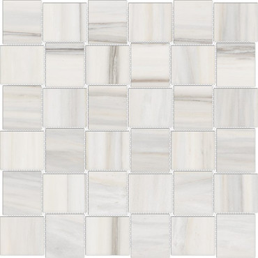 Mayfair Zebrino 2x2 HD Basketweave Polished Porcelain Mosaics (69-952)