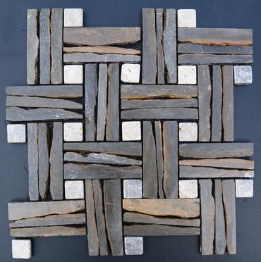 Exotics Urban Slate 12x12 Seamless Interlocking (TOEURBSLA1212)