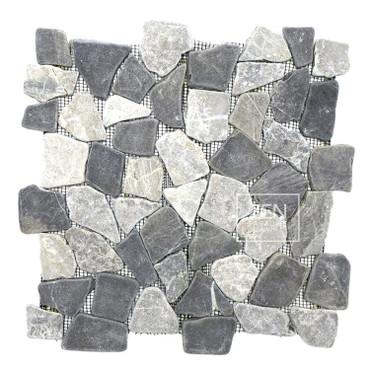 Storm Grey Mix Mosaic 12x12 (ZPM010)