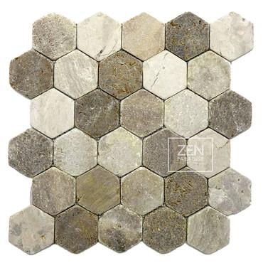 Beach Mix Hexagon 13x13 (ZPH001)