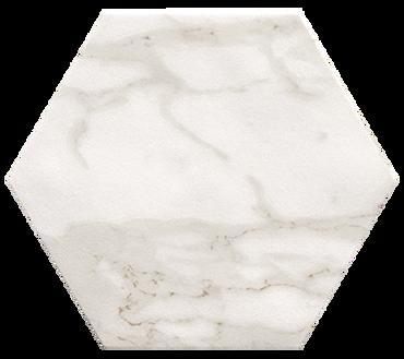 Roma Calacatta Hexagon 10x8 Floor Tile (ROCAESAGONO)