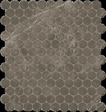 "Roma Imperiale 1"" Penny Round Mosaic (ROIMMOSROUND)"