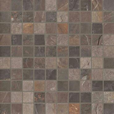 Natural Slate Multicolor 1x1 Mosaic (UNSL1MMU)