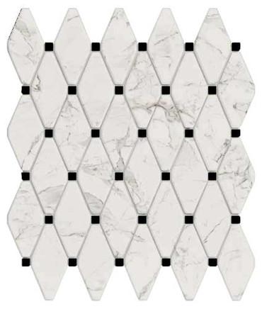 Calacatta Honed Esagona 12.6x14.5 (VALCALESA)