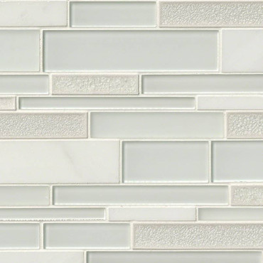 Fantasia Blanco Interlocking Patterned Mosaic (SMOT-SGLSIL-FANBLA8MM)