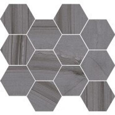 Lakestone Moderne Grigio 3.25 Hex Mosaic (C36246-HX)