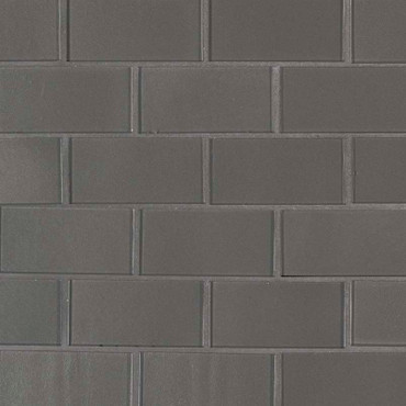 Metallic Gray Subway Tile 2x4 Mosaic (SMOT-GLSST-MEGR8MM)
