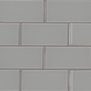 Oyster Gray Subway Tile 3x6 (SMOT-GL-T-OYGR36)