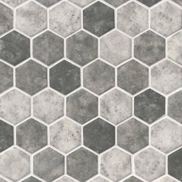 Urban Tapestry Hexagon Mosaic (SMOT-GLS-UT6MM)