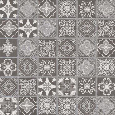 Anya Charcoal 2x2 Mosaic