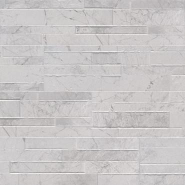Dekora Carrara White Polished Ledgers 6x24 (NCARWHI6X24)
