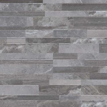 Dekora Palisade Grey Polished Ledgers 6x24 (NPALGRE6X24)