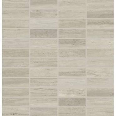 Articulo Column Grey 1x3 Mosaic on 12x12 Sheet (AR0913MS1P2)