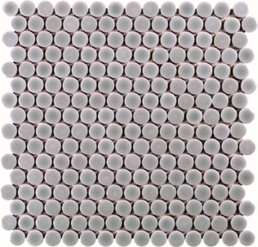 Light Gray Penny Rounds 12 3/8 X 11 1/2 (ADPG700)