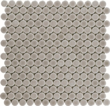 Taupe Penny Rounds 12 3/8 X 11 1/2 (ADPT700)