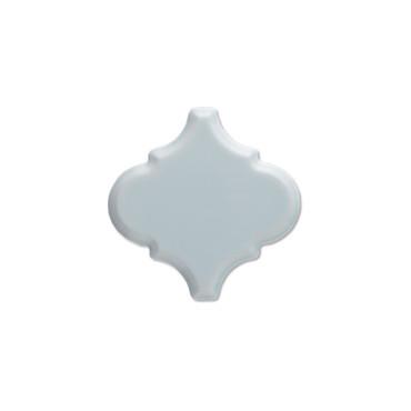 """Studio Ice Blue Beveled Arabesque 6"""" (ADSTI940)"""