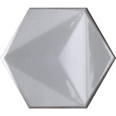 Bianco Hexagon 6x7 (CHBIHEX)