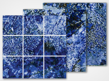 Cascade Series - Lagoon Porcelain Mosaic 2x2 (CS-291)