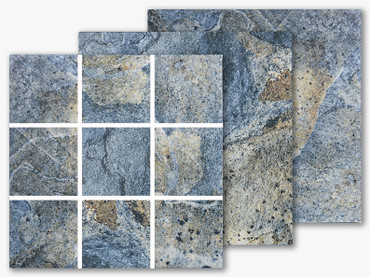 Italian Slate Series - San Marino 2x2 Porcelain Mosaic 12x12 (IS-234)