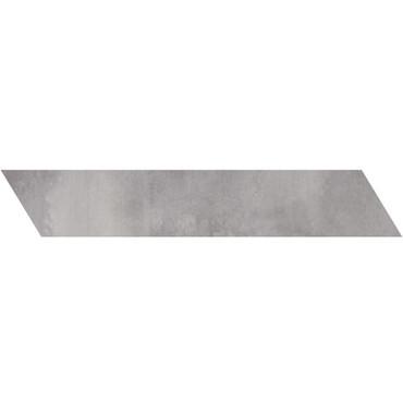 Metal Max 2.0 Medium Grey Porcelain Right Chevron 4x24 (HMM10602F-CHR)