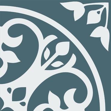 Motif Nouveau 8x8 Ceramic Tile (DF216)