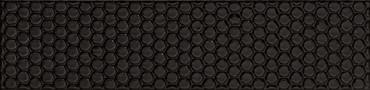 Bubble Nero Glossy Ceramic Bubble Wall Tile 3x12 (BBBL73N)