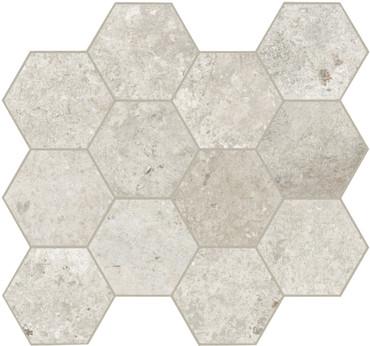Debris Flint Hex Mosaic (GSP8041)