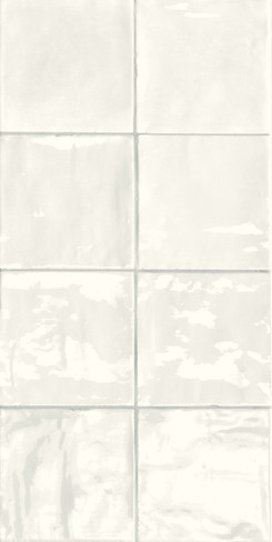 Tsquare First Snow Glossy Ceramic 6x6 Wall Tile (GSWTTTSW01G)