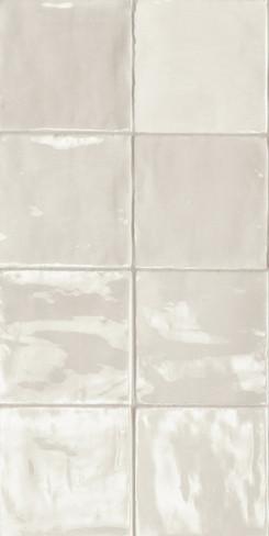 Tsquare Pure Linen Glossy Ceramic 6x6 Wall Tile (GSWTTTSW03G)