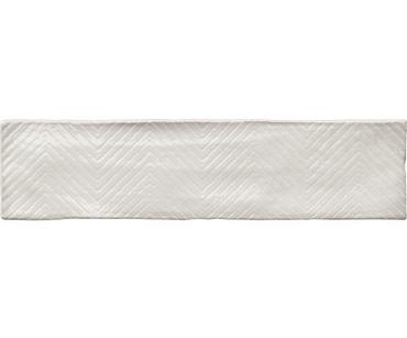 Highland White Ceramic Glossy Wall Tile 3x12 (23664)