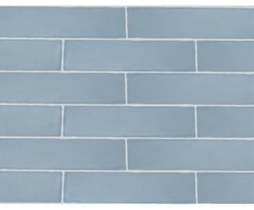 Maritime Folly Blue Glossy Wall Tile 3x12 (MAFB312G)