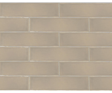 Maritime Hatteras Taupe Glossy Wall Tile 3x12 (MAHT312G)
