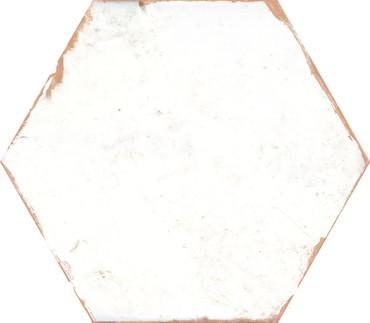 Bohemia Lino White Porcelain Hexagon 8x10 (BOLWHEX810)