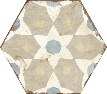 Bohemia Selena Porcelain Hexagon 8x10 (BOSEHEX810)