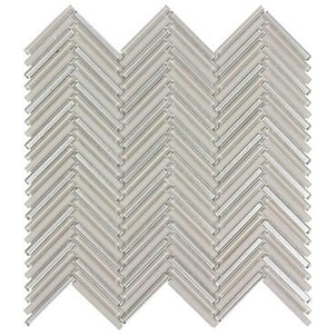 Seasons Breeze Glass Herringbone Mosaic 10x10 (ANTHSEBRHB)