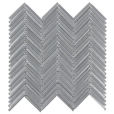 Seasons Wind Glass Herringbone Mosaic 10x10 (ANTHSEWIHB)