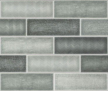 Collage Loft Gray Ceramic Wall Tile 4x12 (ANTHCOLG)