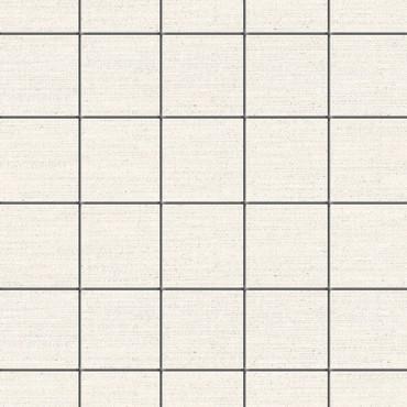Symmetry Morning Mist Linen Porcelain Mosaic 2x2 (MTG12MO106)