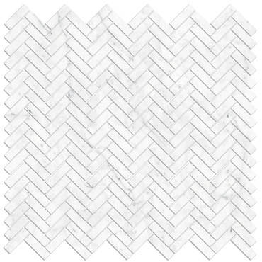 "Bianco Carrara Polished 2"" Hex Mosaic (BIANMOS2HEXPO)"
