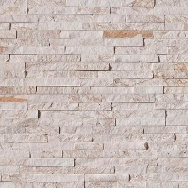 Ledger Panel Royal White Splitface Panel 6x24 (LPNLQROYWHI624)